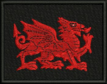 Welsh Embroidered TRF